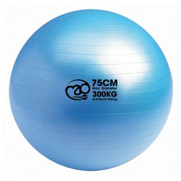 Mad Swiss Ball-Pump-DVD 75cm blauw