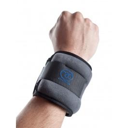 Mad  Wrist/Ankle Weights (2x 1kg) grijs - zwart