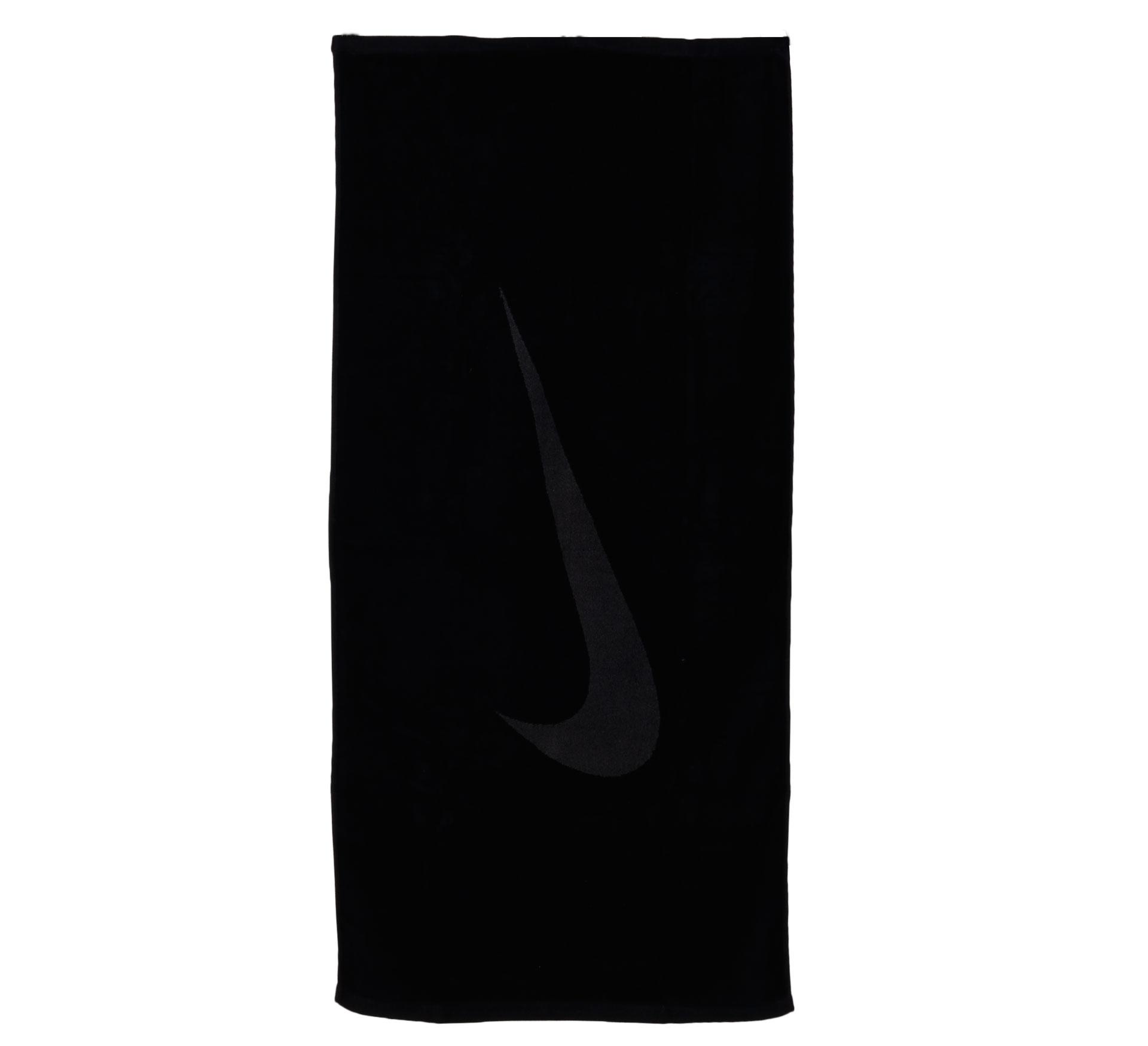 Nike Sport Handdoek Large zwart - grijs