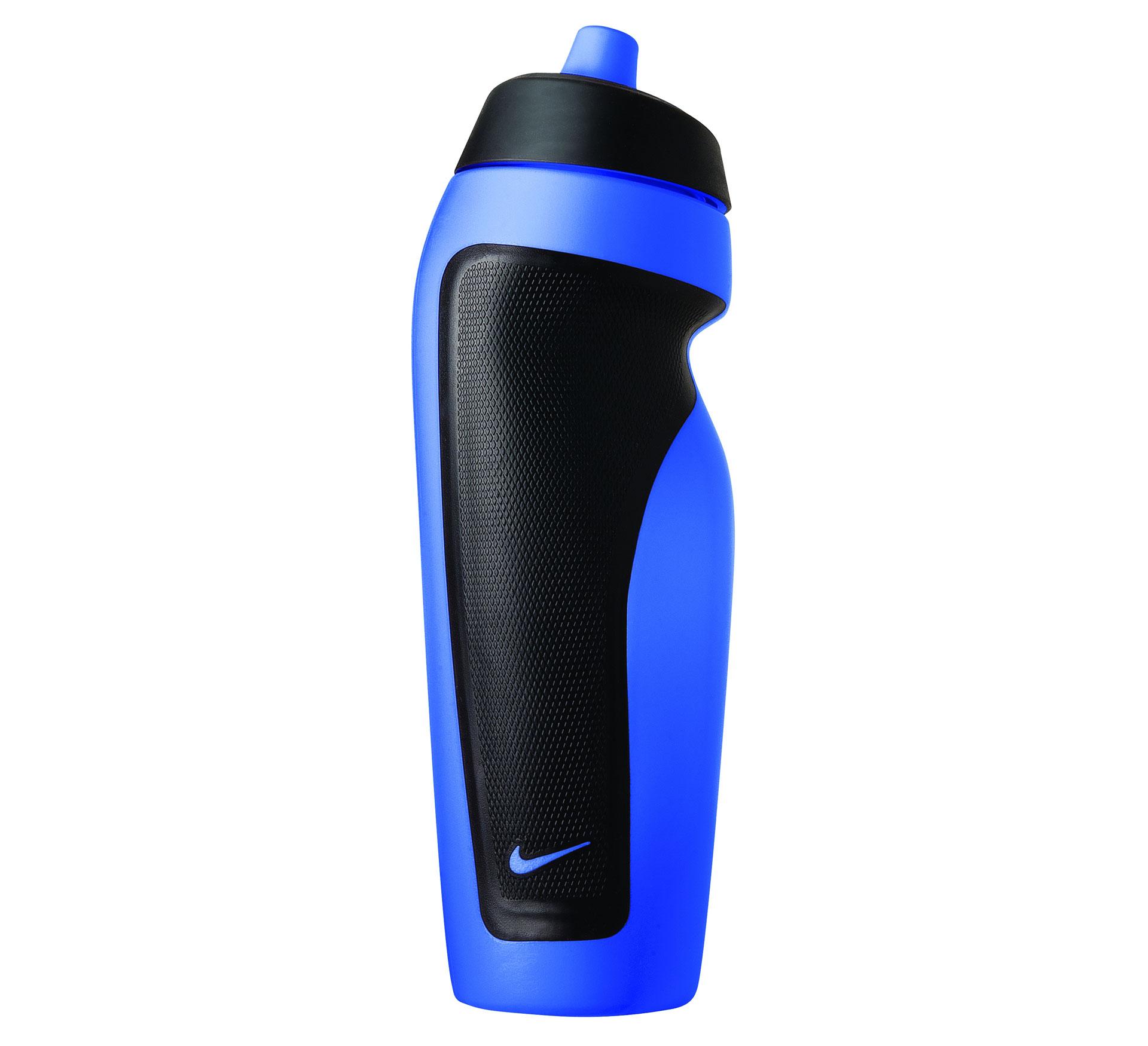 Nike Sport Water Bidon blauw - zwart