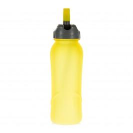Nathan  Tritan Drinkfles (700ml) geel - grijs