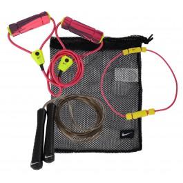 Nike Fitness Trainings Set roze - groen