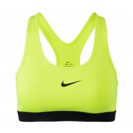 Nike Pro Classic Sport Beha Dames geel - zwart