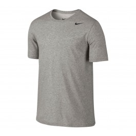 Nike  Dri Fit Version Sportshirt Heren grijs