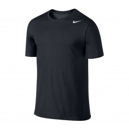 Nike Dri Fit Version Sportshirt Heren zwart