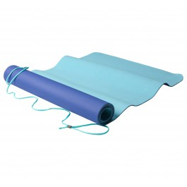 Nike Just Do It 2.0 Yoga Mat blauw - licht groen