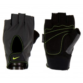 Nike Men's Fundamental Training Gloves grijs - zwart - geel