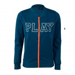 Only Play  Julia Sweatvest Dames blauw - wit - orange