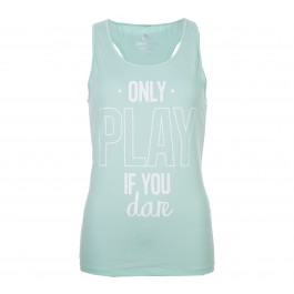 Only Play  Celia Training Tank Top mint groen - wit