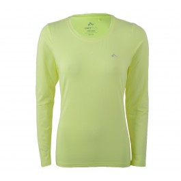 Only Play  Claire Plain LS Training Tee geel