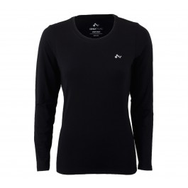 Only Play  Claire Plain LS Training Tee zwart