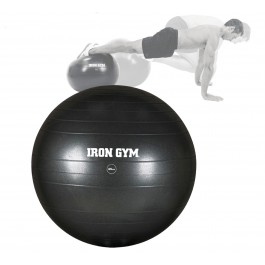 Orange Planet Iron Gym Exercise Ball 65cm zwart