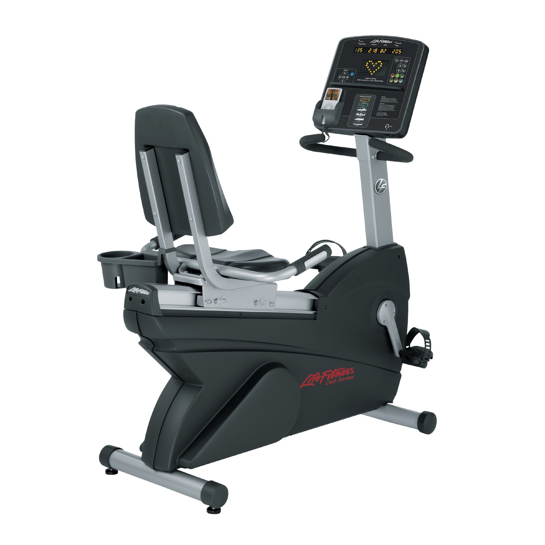 Life Fitness  Club Series Recumbent Lifecycle Exercise Hometrainer