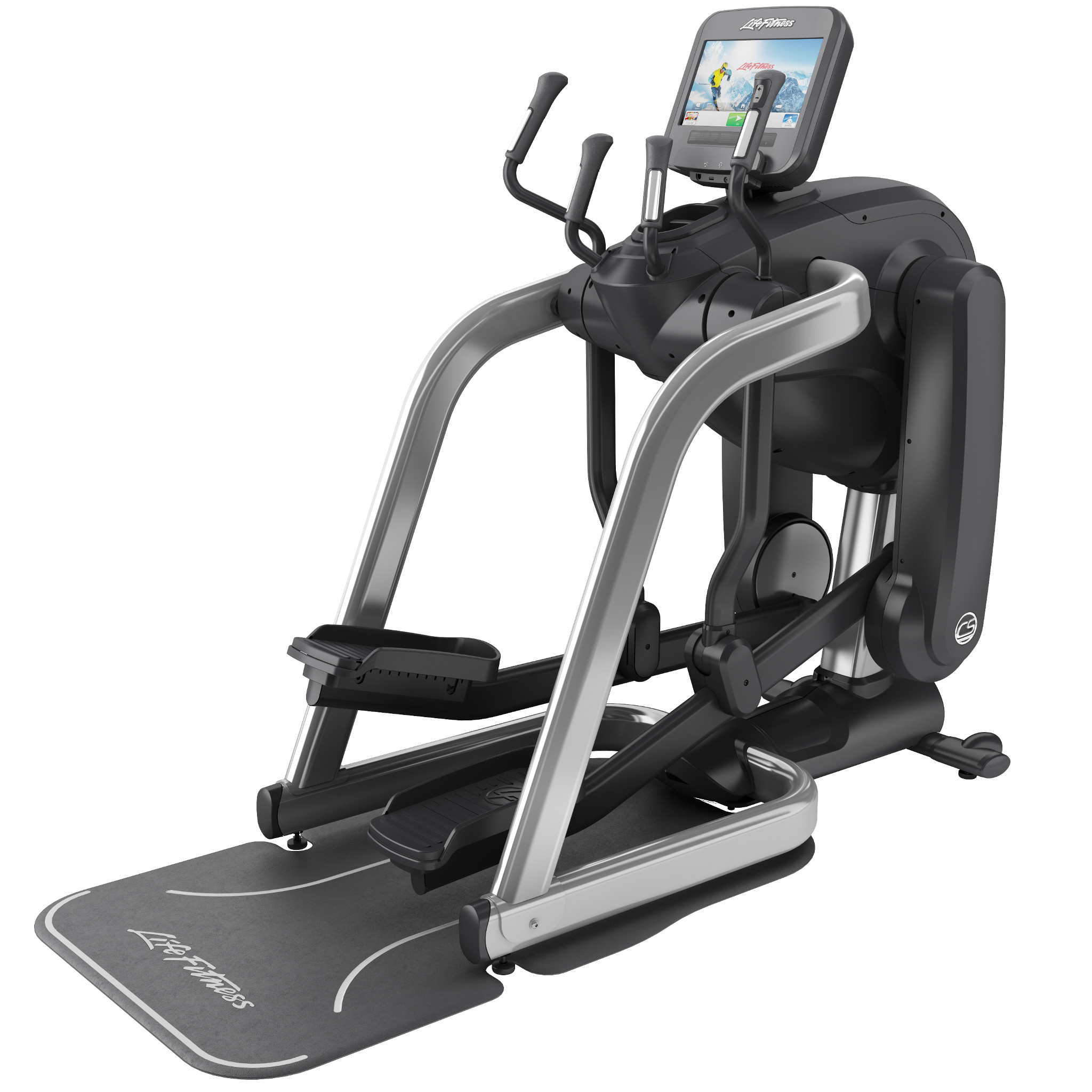 Life Fitness Platinum Discover SE FlexStrider WIFI - Zilver