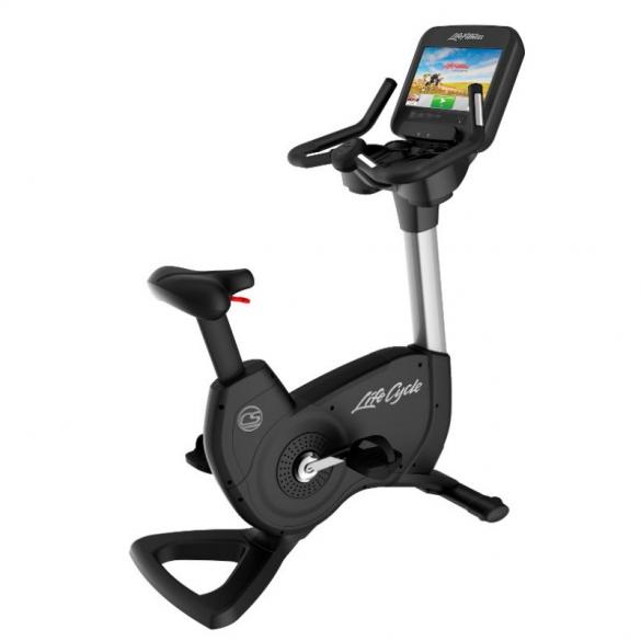 Life Fitness  Platinum Discover SE Upright Hometrainer WIFI - Zilver