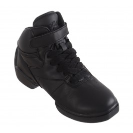 Papillon Dance Sneaker Leather High Junior zwart
