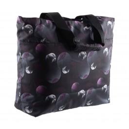 Puma  Core Lite Shopper Tas zwart - paars - grijs