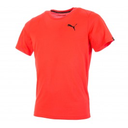 Puma Active Tee koraalrood