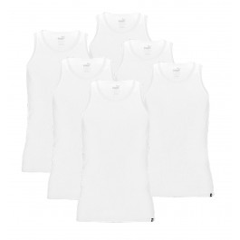 Puma  Basic Tank Top (6-pack) wit