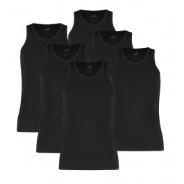 Puma  Basic Tank Top (6-pack) zwart