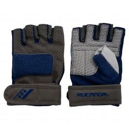 Rucanor Fitness Handschoen Profi III donker grijs - blauw