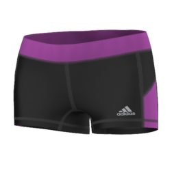 Adidas Techfit Hotpants - Zwart/Paars