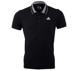 Adidas Essentials Polo zwart - grijs - wit