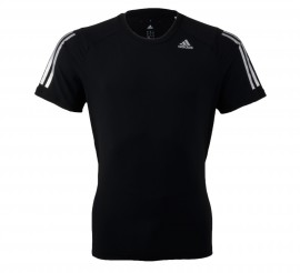 Adidas  Cool365 T-shirt Men zwart - zilver