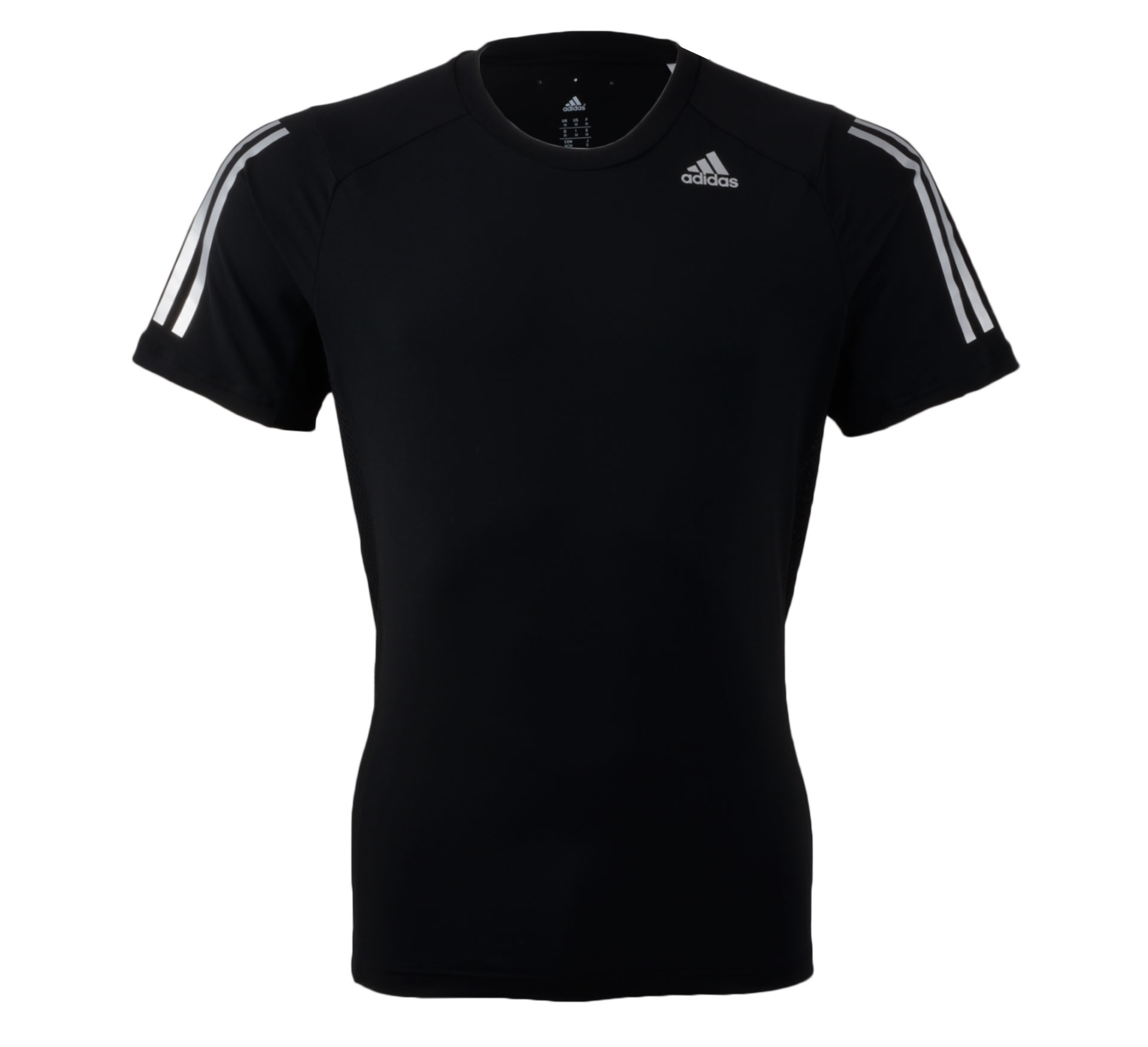 Adidas  Cool365 T-shirt Men zwart - zilver