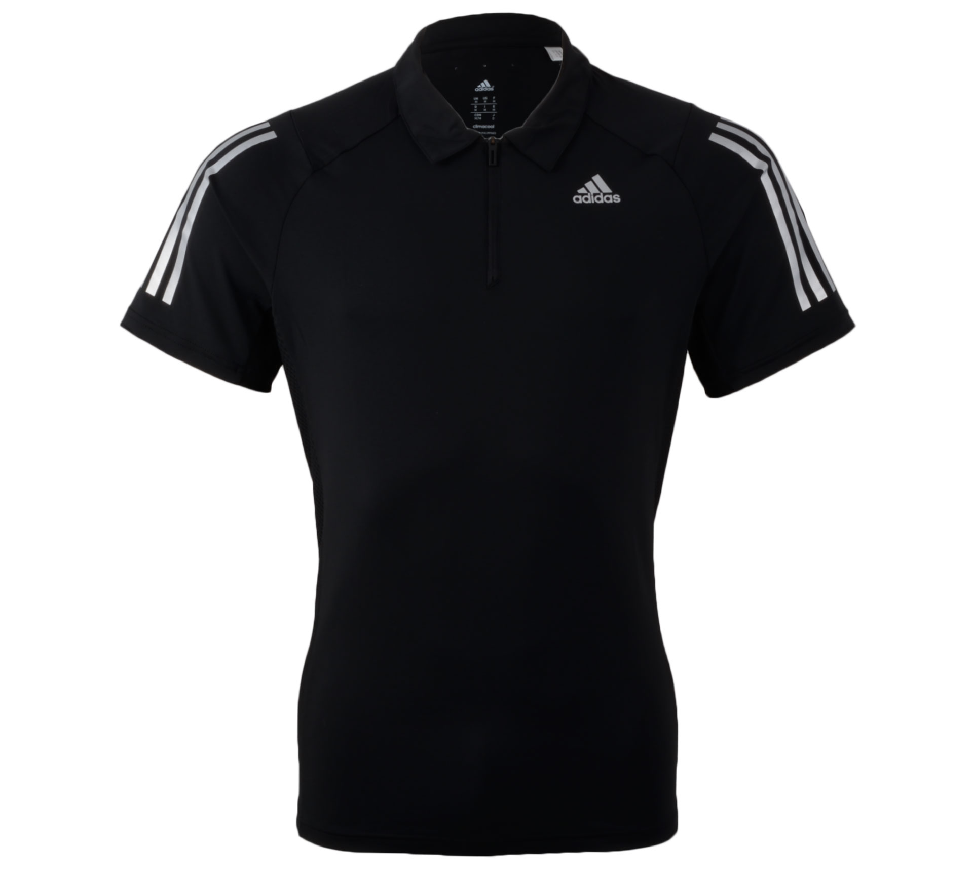 Adidas Cool365 Polo Men zwart - zilver