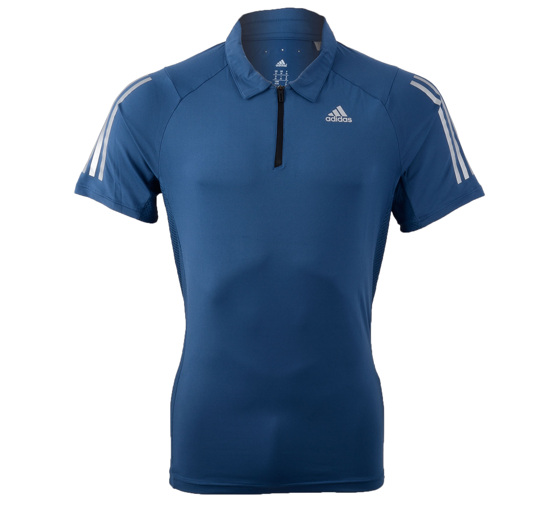 Adidas  Cool365 Polo donker blauw - zilver