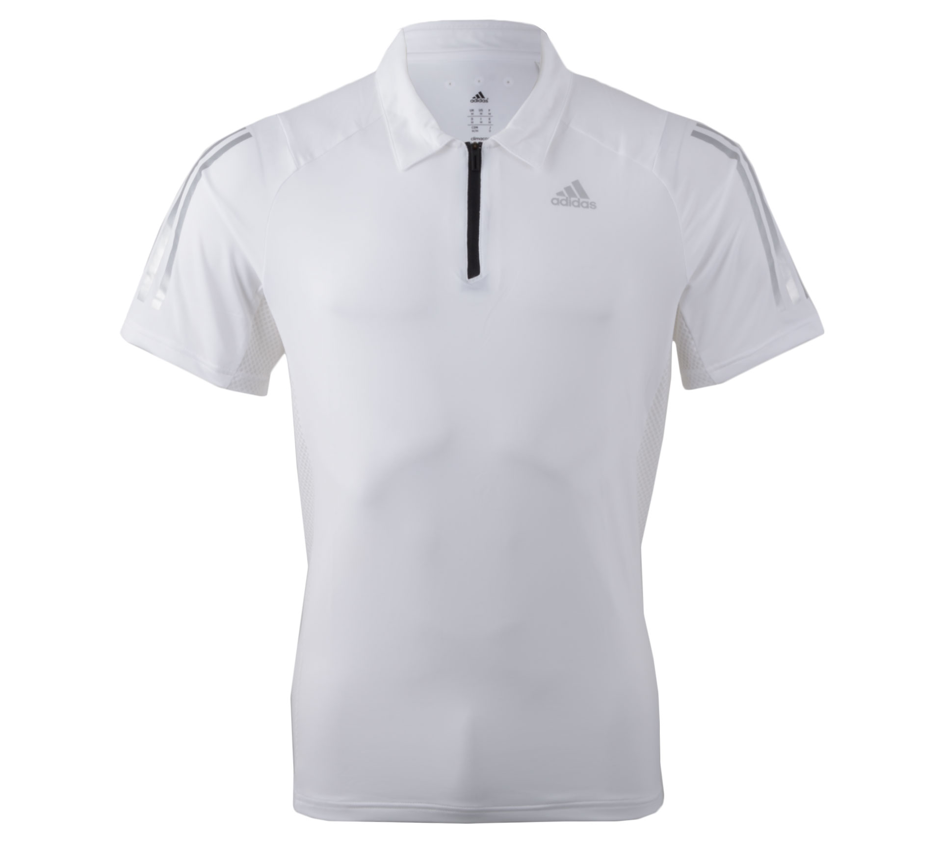 Adidas Cool365 Polo Men wit - zilver