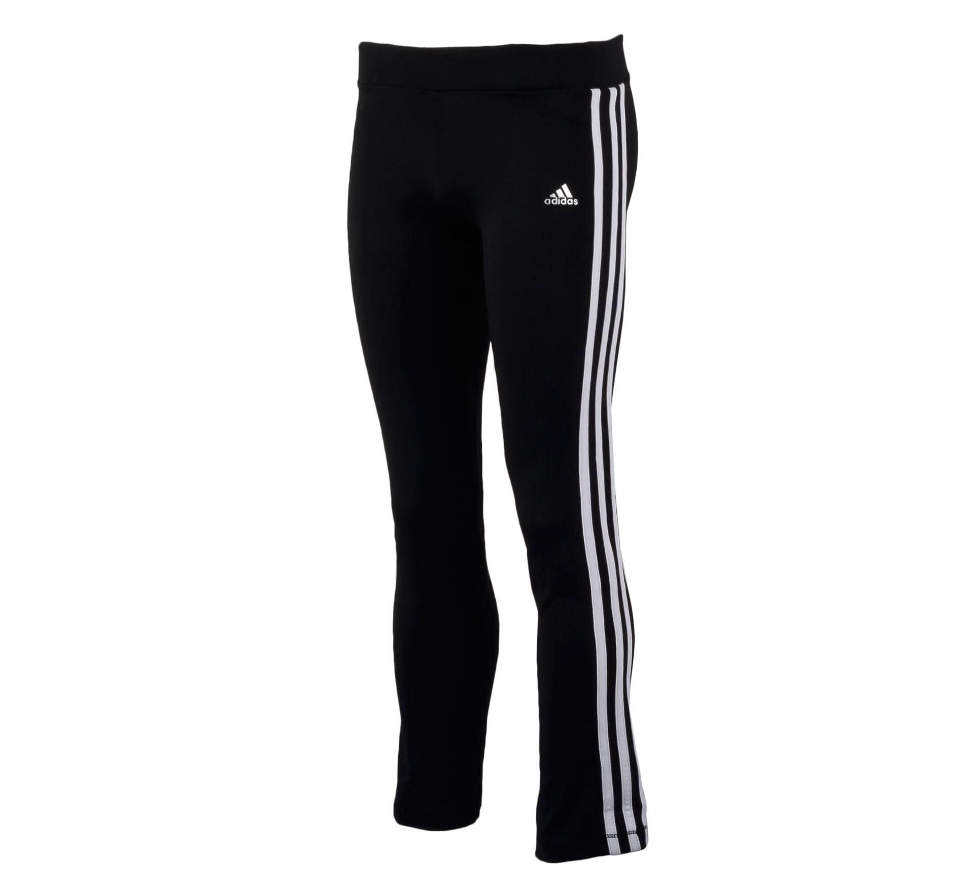 Adidas  YG T Pant zwart - wit
