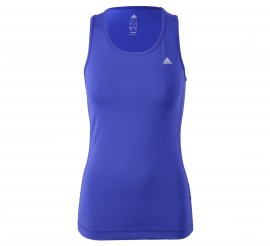Adidas Clima Essentials Tanktop Dames paars
