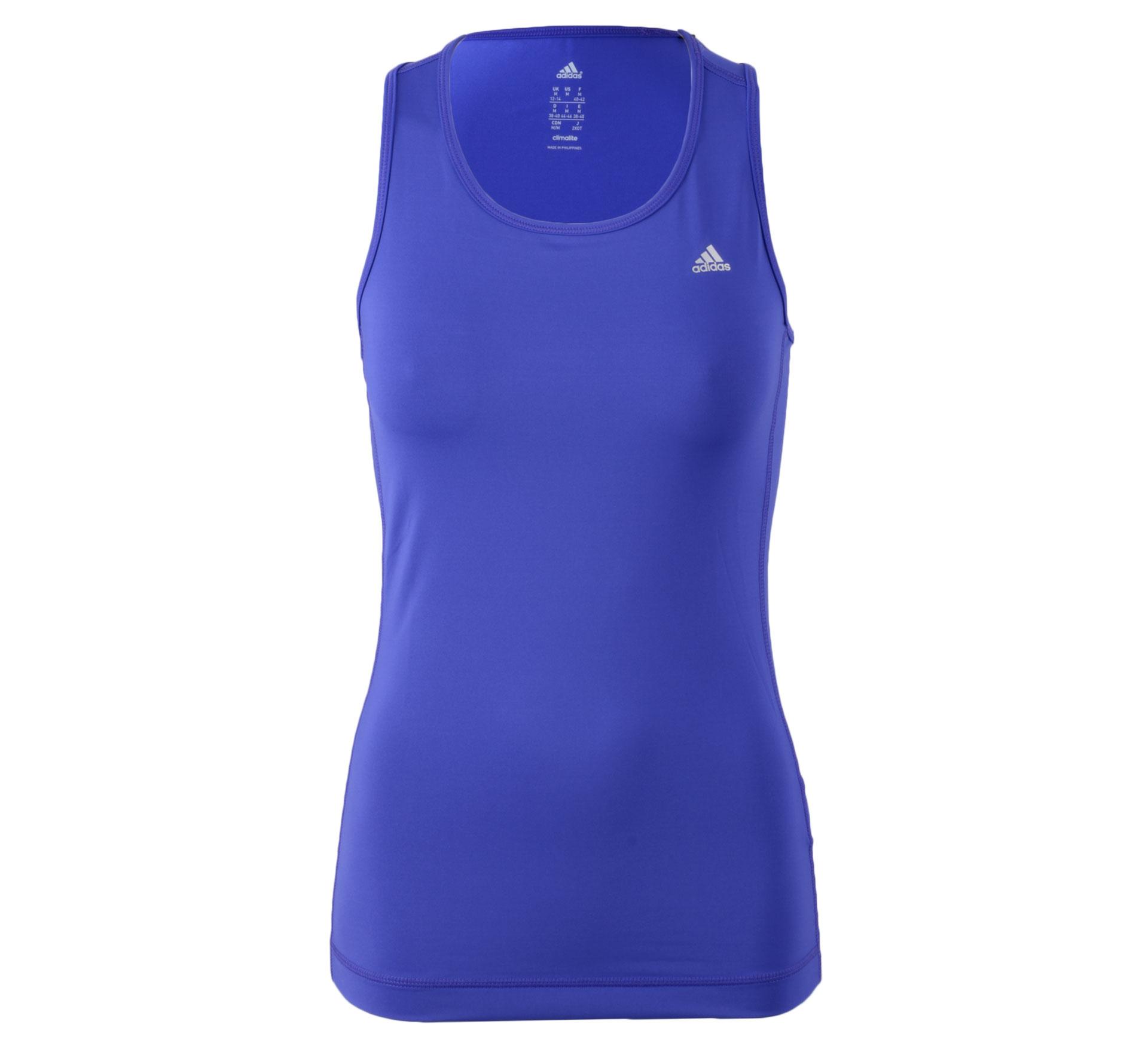 Adidas  Clima Essentials Tanktop Dames paars