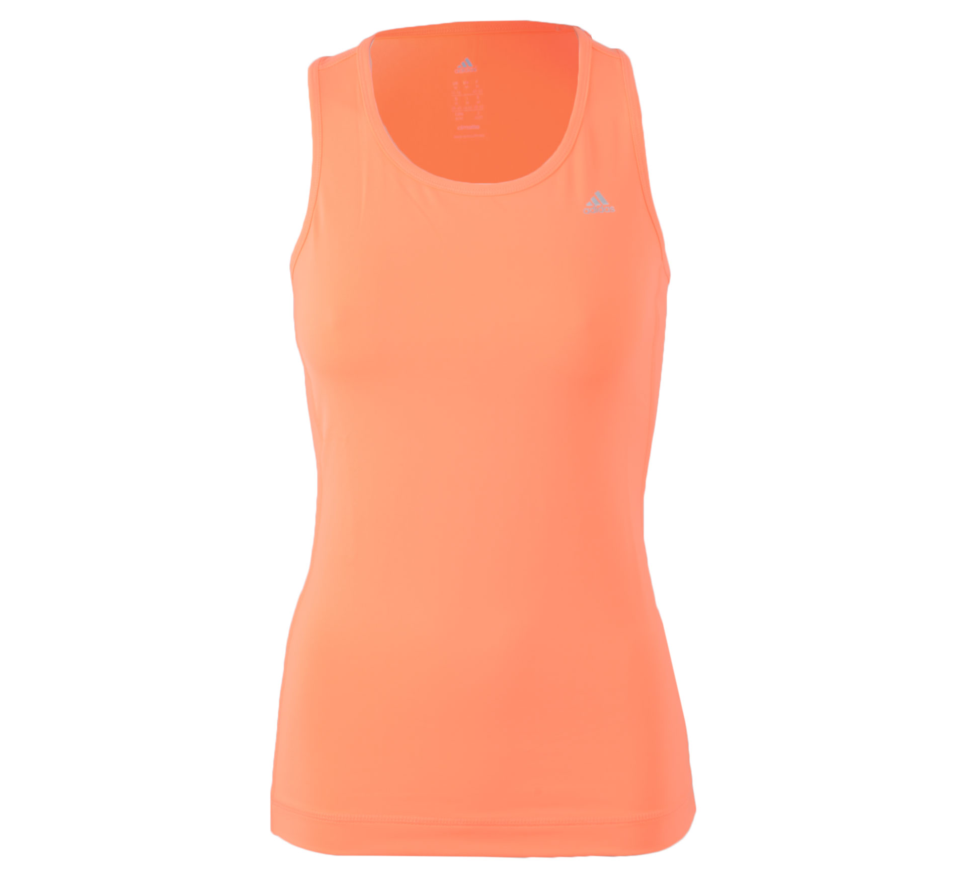 Adidas  Clima Essentials Tanktop Dames oranje