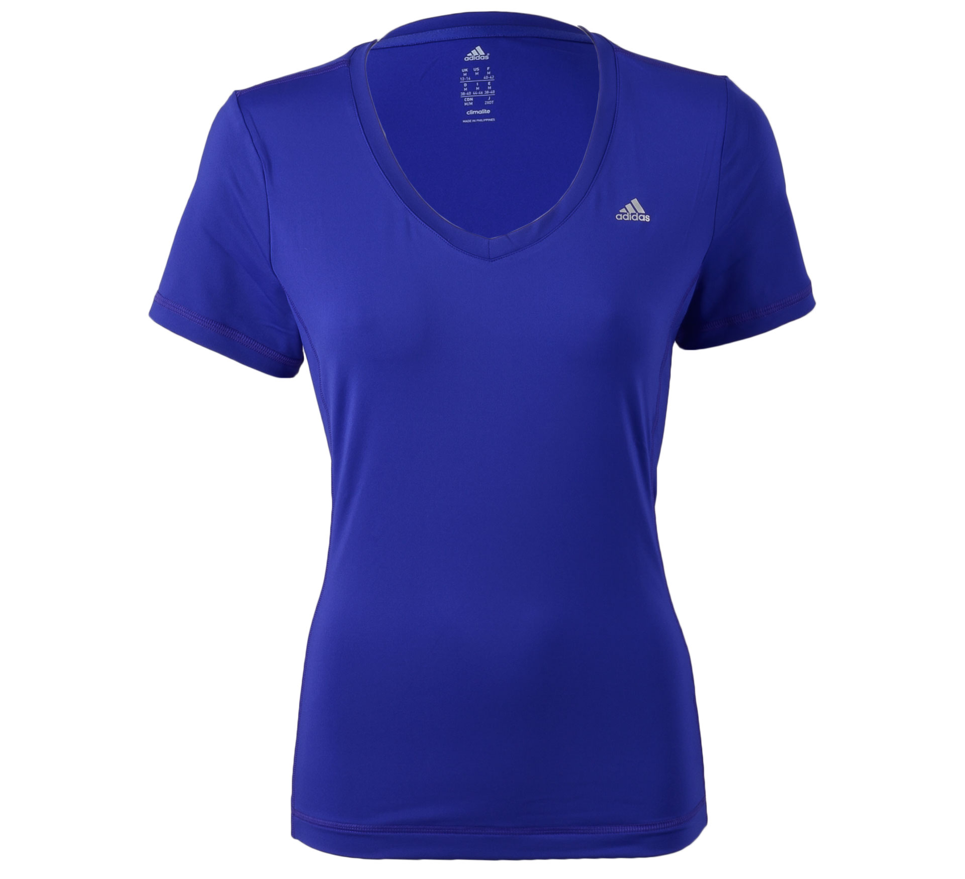 Adidas Clima Essentials T-shirt Dames paars