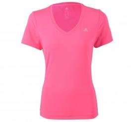 Adidas  Clima Essentials T-shirt Dames roze