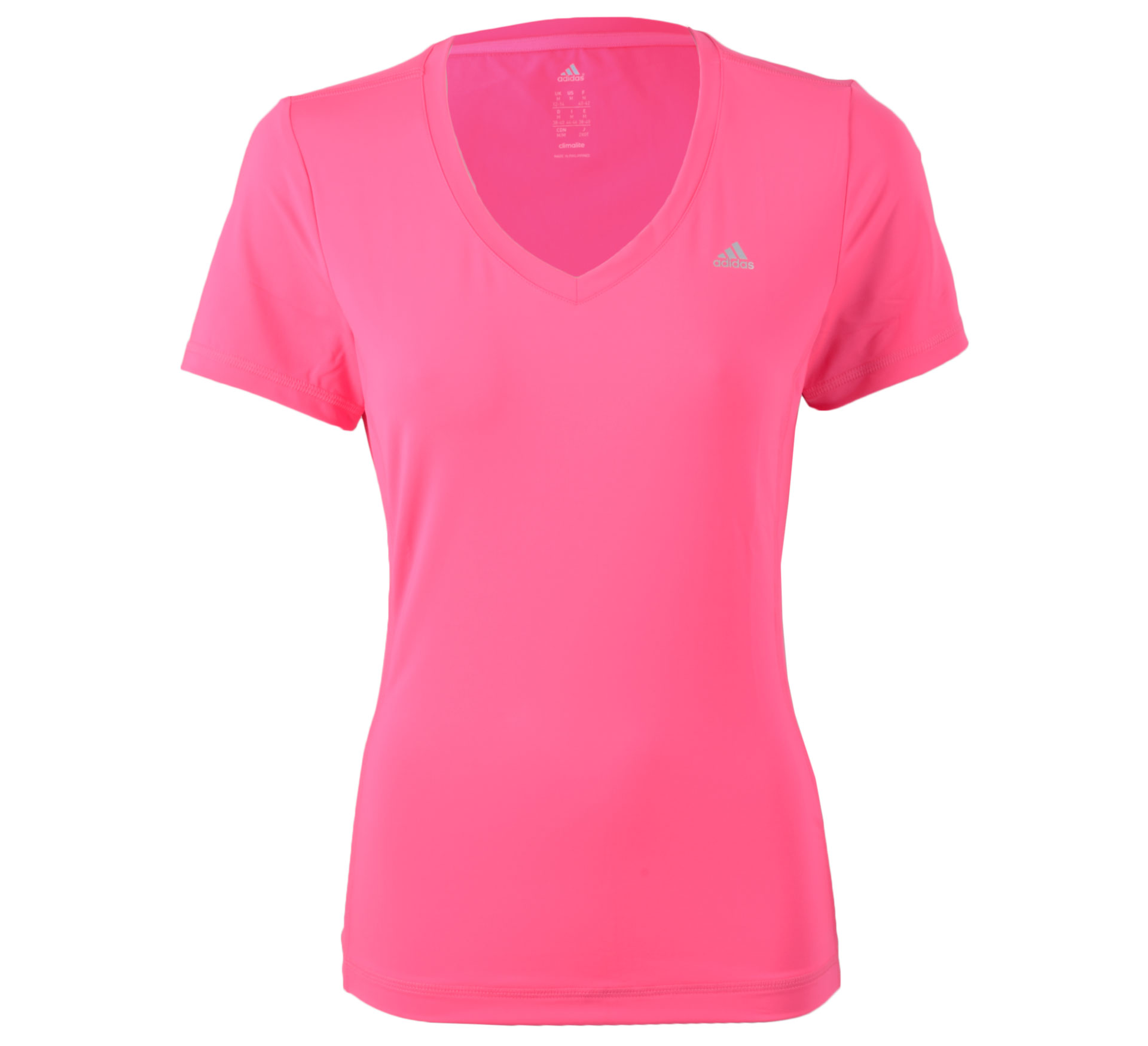 Adidas Clima Essentials T-shirt Dames roze