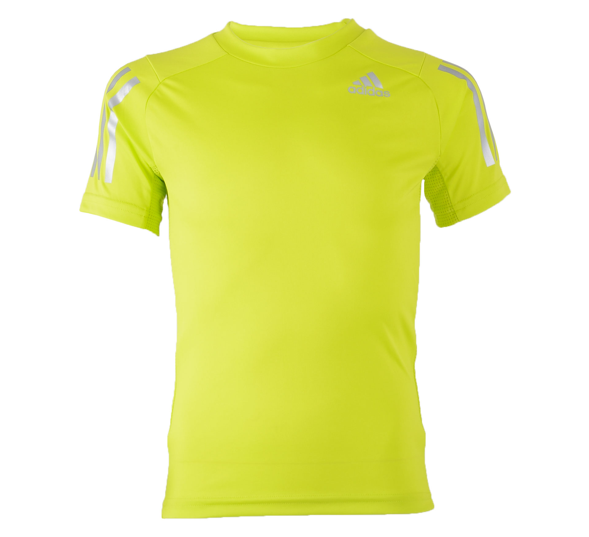 Adidas  YB Trainings Tee lime groen - zilver