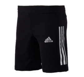 Adidas  Training Short Junior zwart - zilver