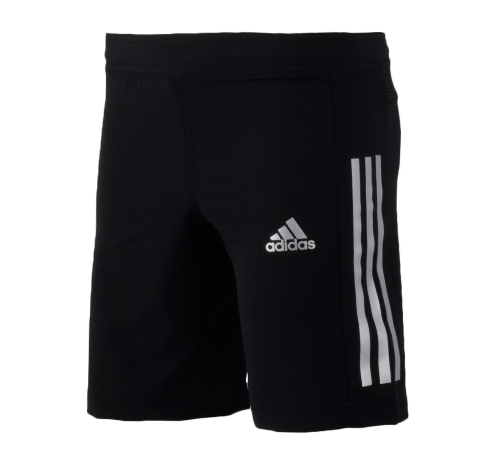 Adidas Training Short Junior zwart - zilver