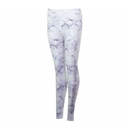 Superdry Core Gym Legging wit - paars - zwart