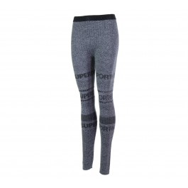 Superdry  Gym Seamless Legging grijs - zwart