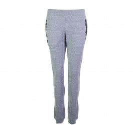 Superdry  Gym Tech Jogger W grijs - zwart - wit