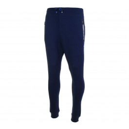 Superdry Gym Tech Slim Jogger donker blauw - zwart - wit