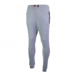 Superdry  Gym Tech Slim Jogger grijs - zwart