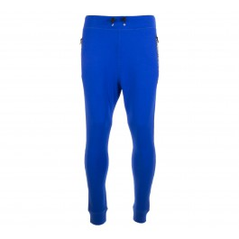 Superdry Gym Tech Slim Jogger blauw - wit - zwart