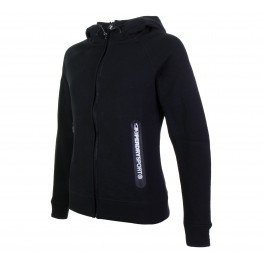 Superdry Gym Tech Ziphood zwart - wit