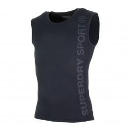 Superdry  Runner Vest zwart - grijs